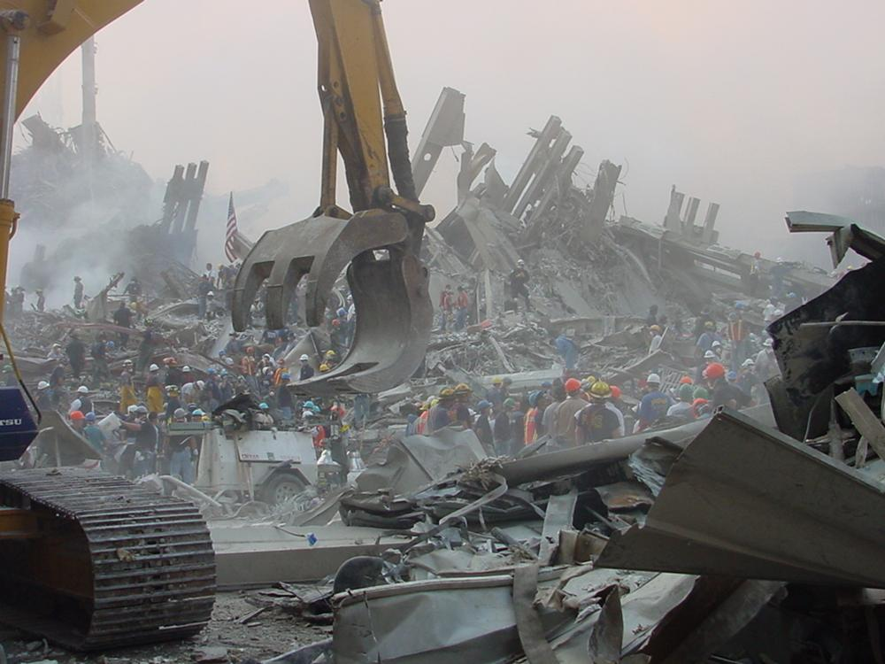 Semptember 11, 2001 aftermath