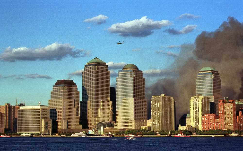 NYC on September 11, 2001