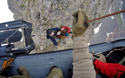 Alaska Air National Guard rescues bear-mauling victim