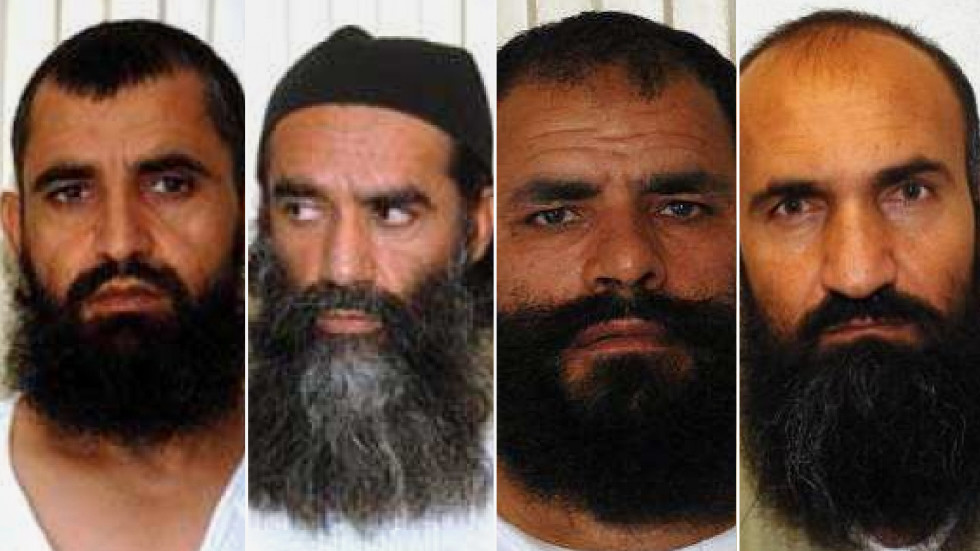 Four of the Taliban Five exchanged for Bowe Bergdahl