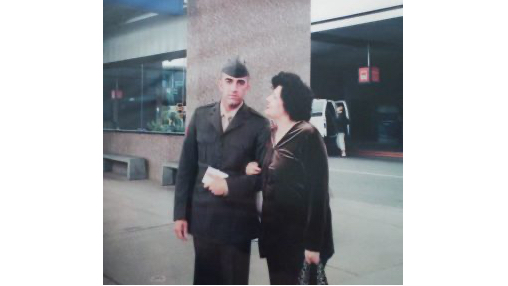 Ajmal Achekzai, a former Marine originally from Afghanistan