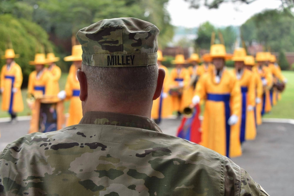 Gen. Milley in hot water over calls to China