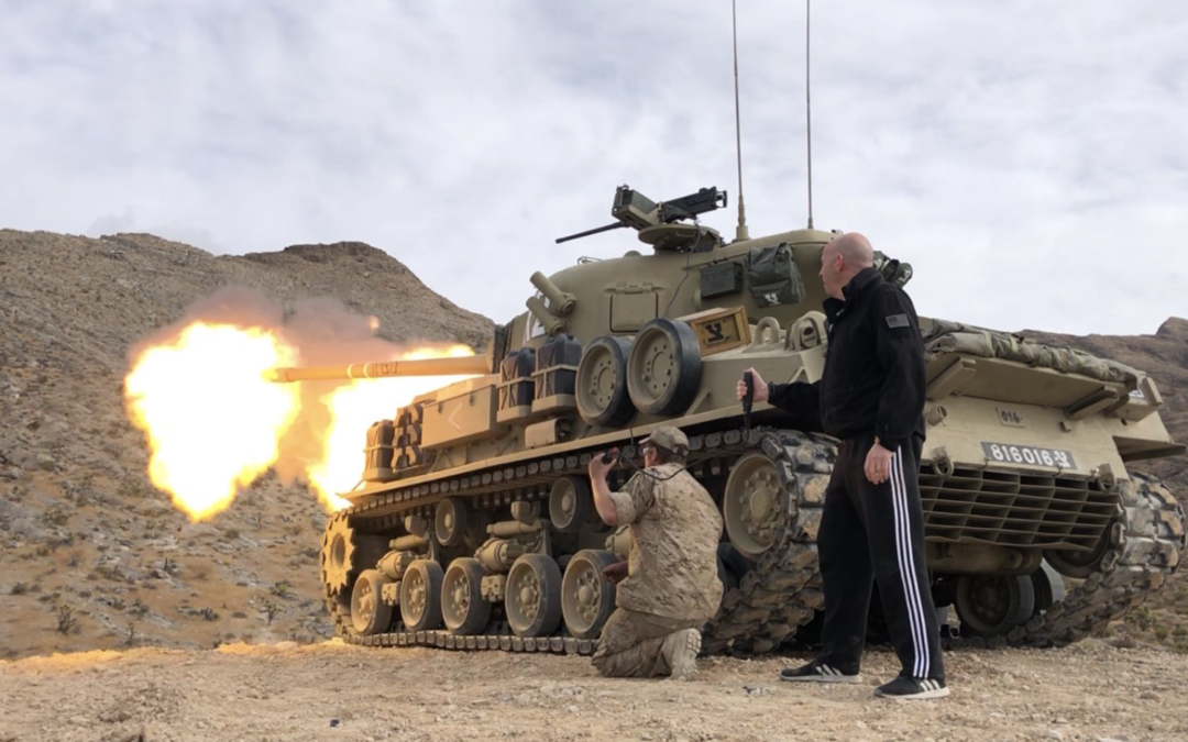 Want to drive a tank or shoot a howitzer? Here's how